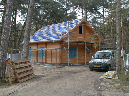 thumbnail for Het Grote Bos nieuwbouw Finse bungalows